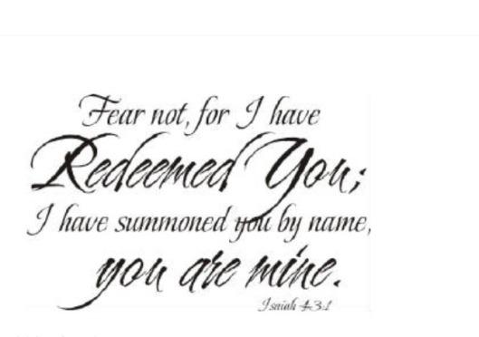 fear not 02.19.2014