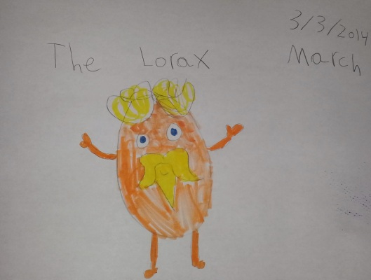 lorax drawing 03.04.2014